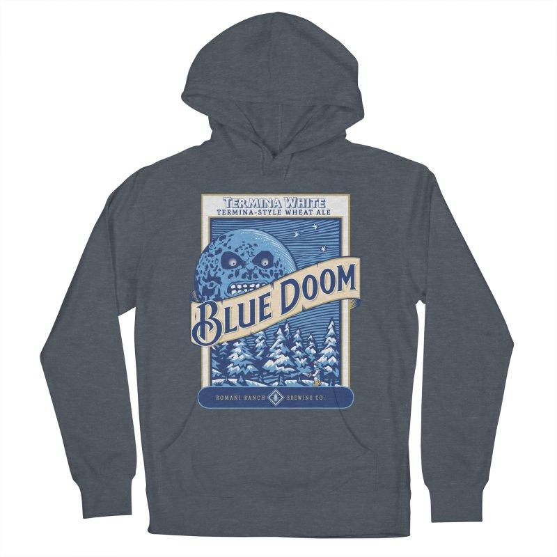 Blue Doom Women's Pullover Hoody by Moysche's Shop