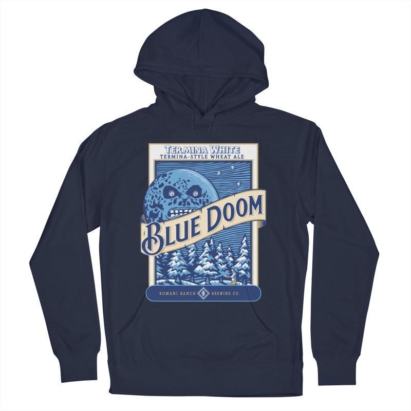 Blue Doom Women's Pullover Hoody by moysche's Artist Shop