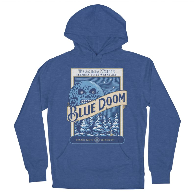 Blue Doom Men's Pullover Hoody by moysche's Artist Shop