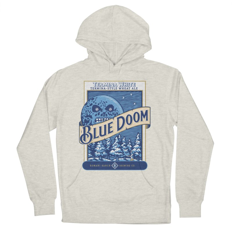 Blue Doom Men's Pullover Hoody by Moysche's Shop
