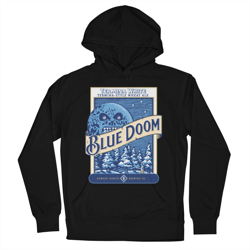 Blue Doom Men's Pullover Hoody by moysche's Artist Shop