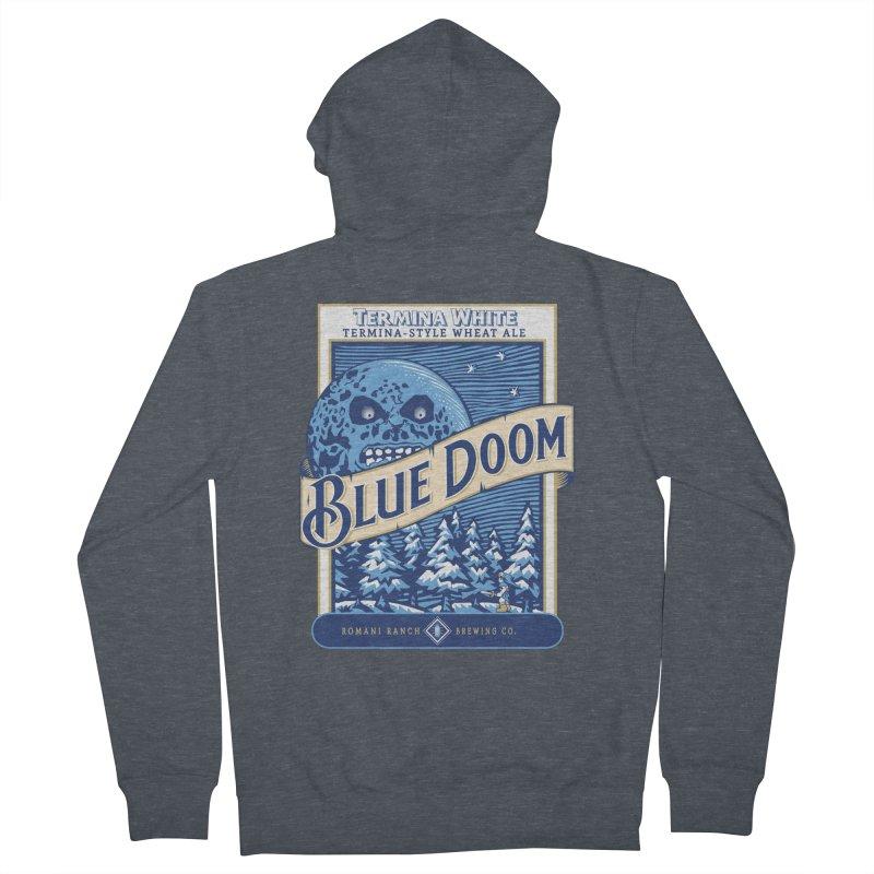Blue Doom Women's Zip-Up Hoody by Moysche's Shop