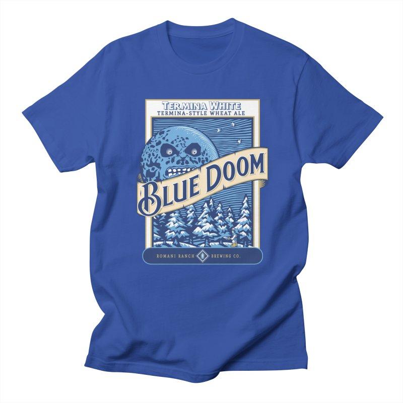 Blue Doom Men's T-Shirt by Moysche's Shop