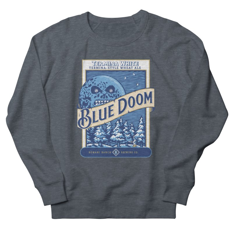 Blue Doom Men's Sweatshirt by moysche's Artist Shop