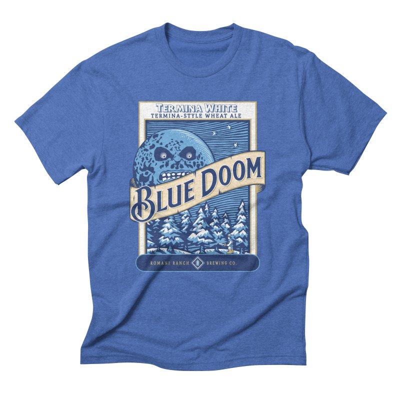 Blue Doom Men's Triblend T-Shirt by Moysche's Shop