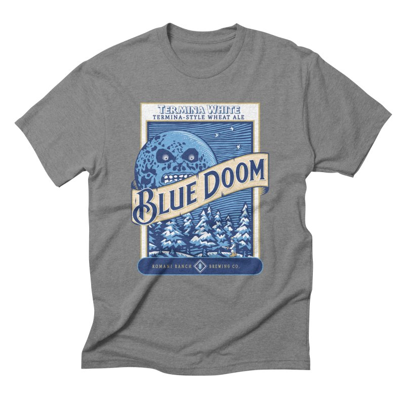 Blue Doom Men's Triblend T-Shirt by Moysche's Shop