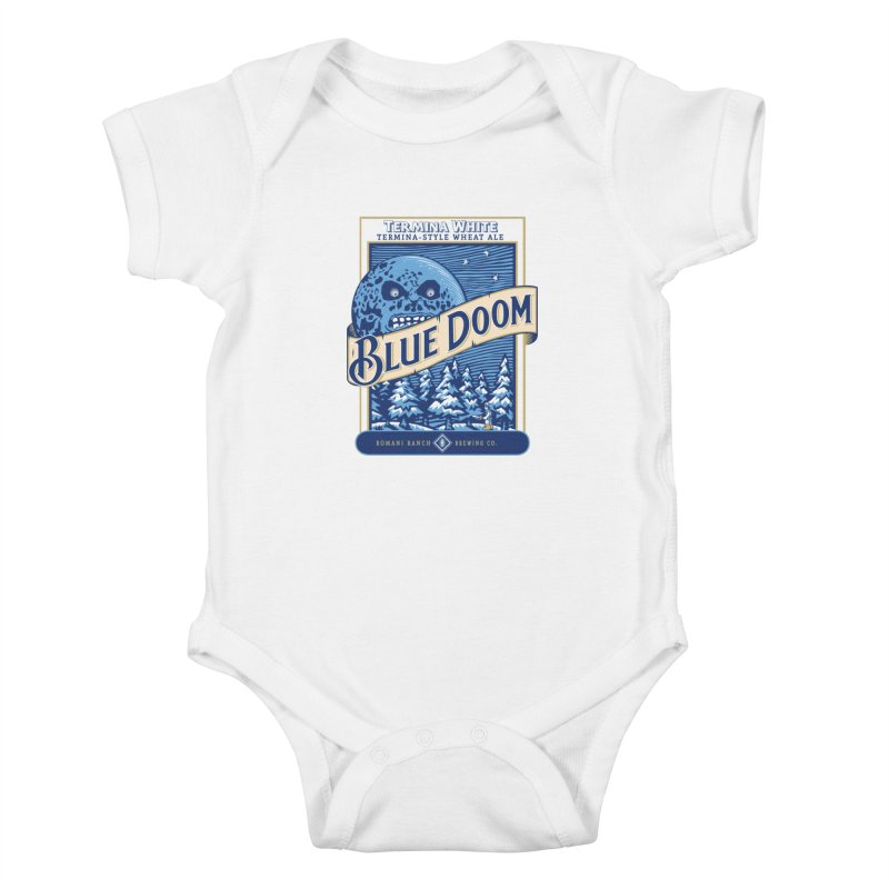Blue Doom Kids Baby Bodysuit by Moysche's Shop
