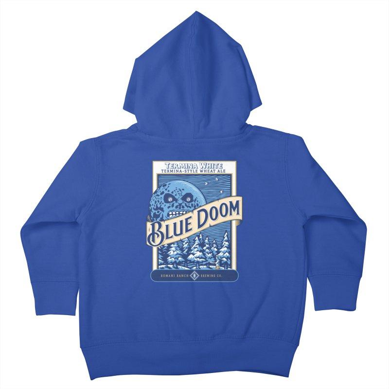 Blue Doom Kids Toddler Zip-Up Hoody by Moysche's Shop