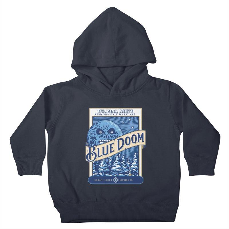 Blue Doom Kids Toddler Pullover Hoody by Moysche's Shop