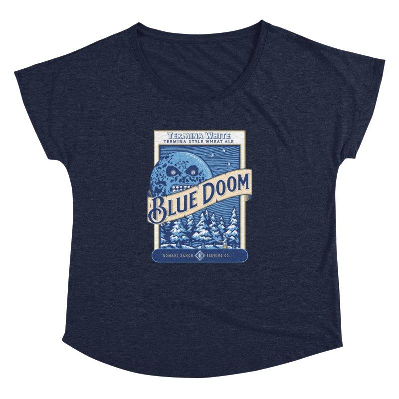 Blue Doom Women's Dolman by moysche's Artist Shop