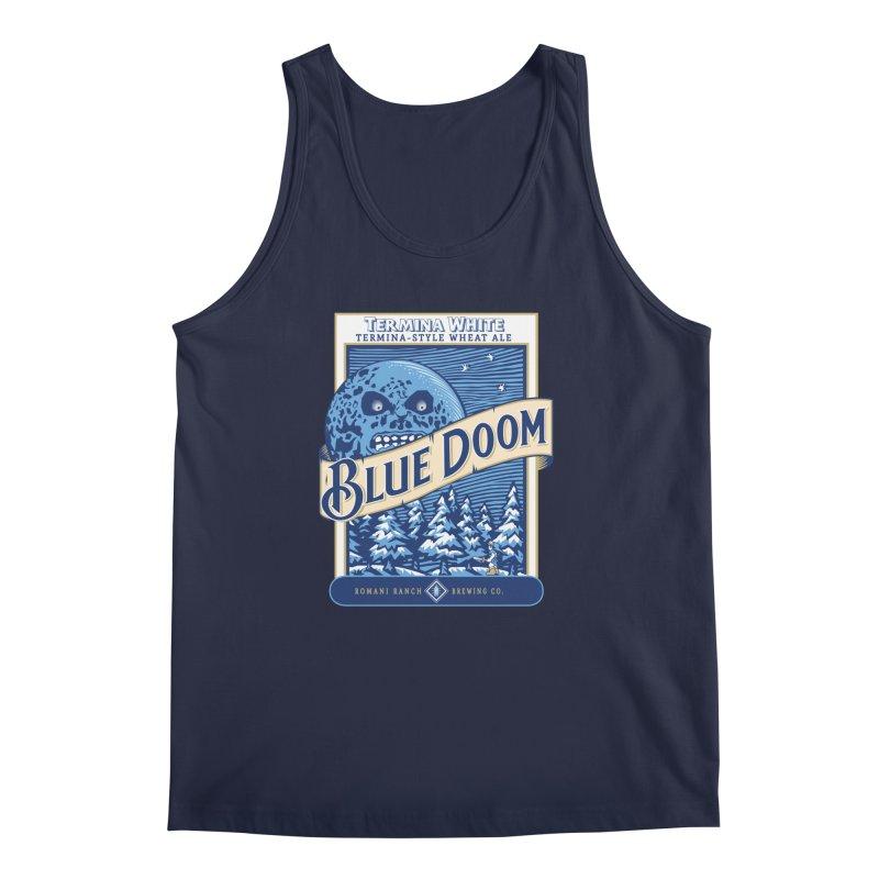 Blue Doom Men's Tank by Moysche's Shop