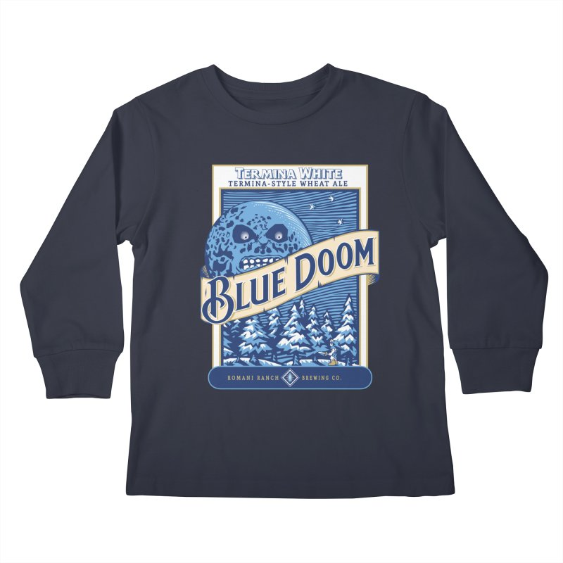 Blue Doom Kids Longsleeve T-Shirt by Moysche's Shop