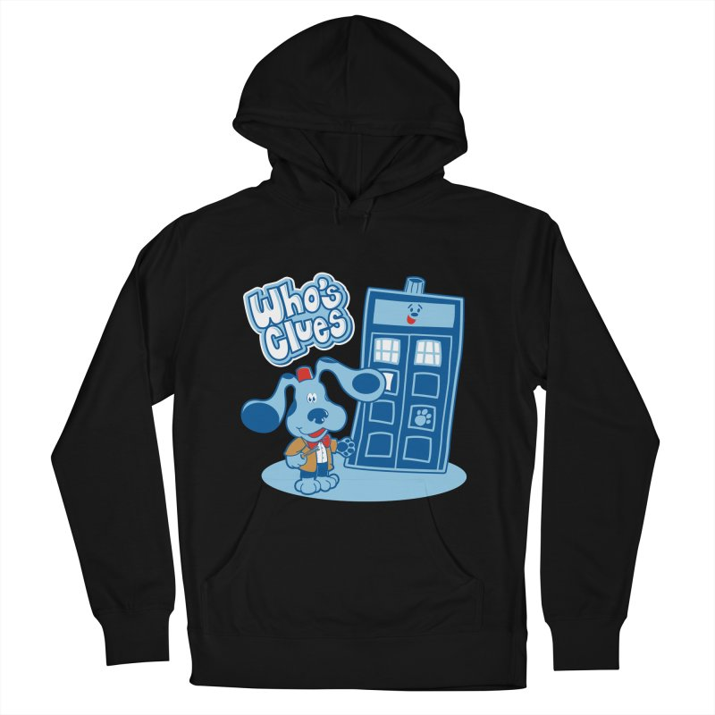 Who's Clues Men's Pullover Hoody by Moysche's Shop