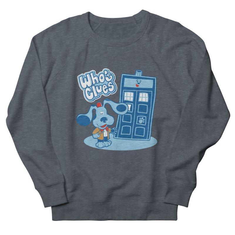 Who's Clues Men's Sweatshirt by moysche's Artist Shop