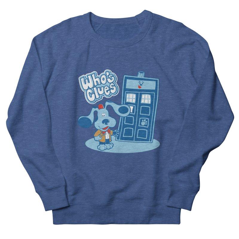 Who's Clues Men's Sweatshirt by Moysche's Shop