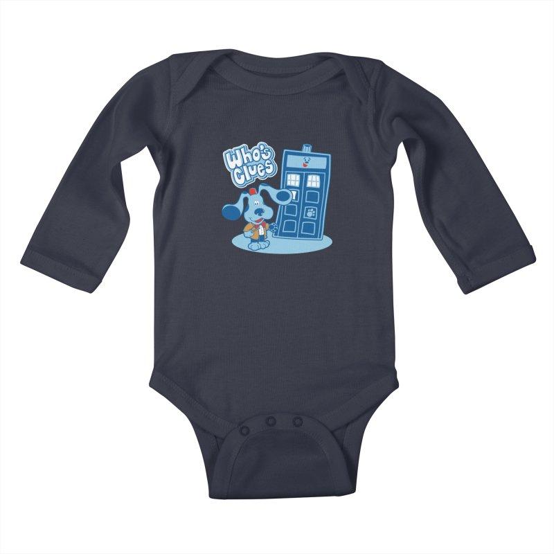 Who's Clues Kids Baby Longsleeve Bodysuit by Moysche's Shop