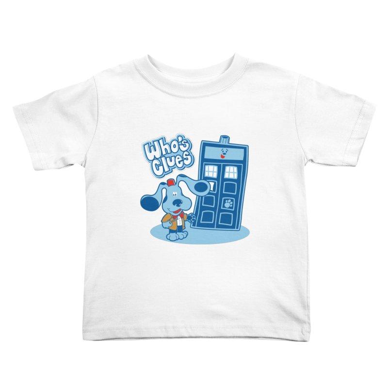 Who's Clues Kids Toddler T-Shirt by moysche's Artist Shop