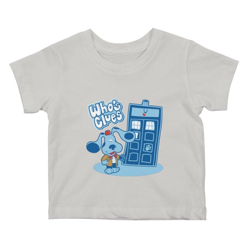 Who's Clues Kids Baby T-Shirt by Moysche's Shop