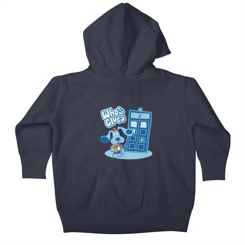 Who's Clues Kids Baby Zip-Up Hoody by moysche's Artist Shop