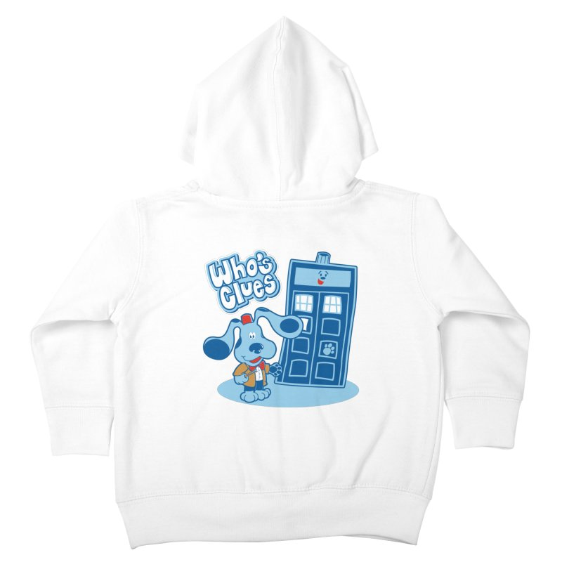 Who's Clues Kids Toddler Zip-Up Hoody by moysche's Artist Shop
