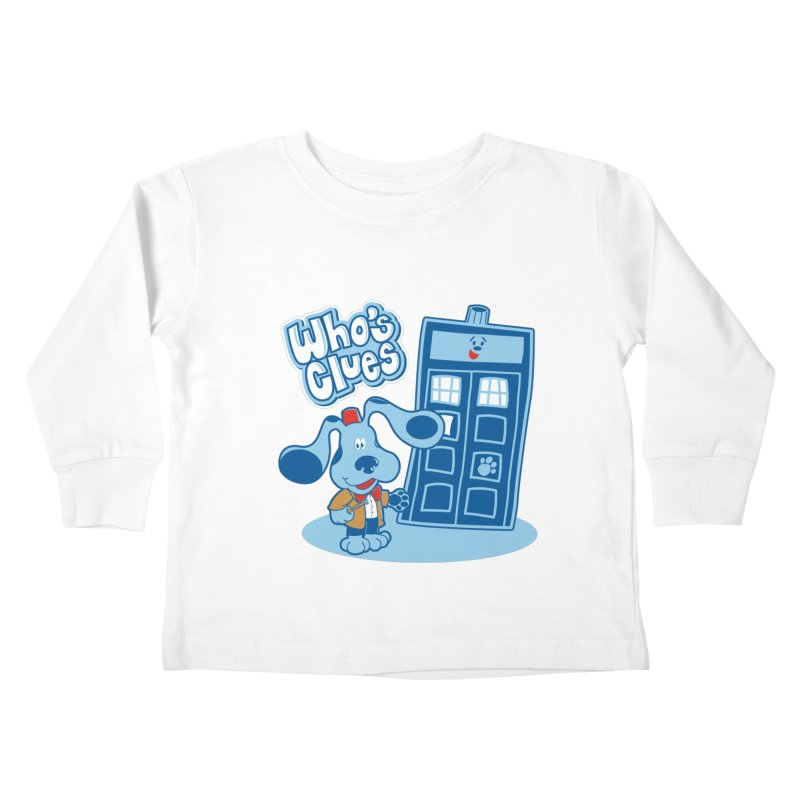 Who's Clues Kids Toddler Longsleeve T-Shirt by Moysche's Shop
