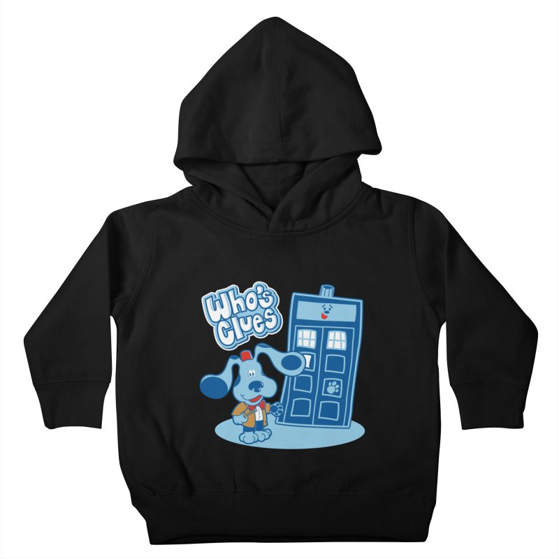 Who's Clues Kids Toddler Pullover Hoody by moysche's Artist Shop