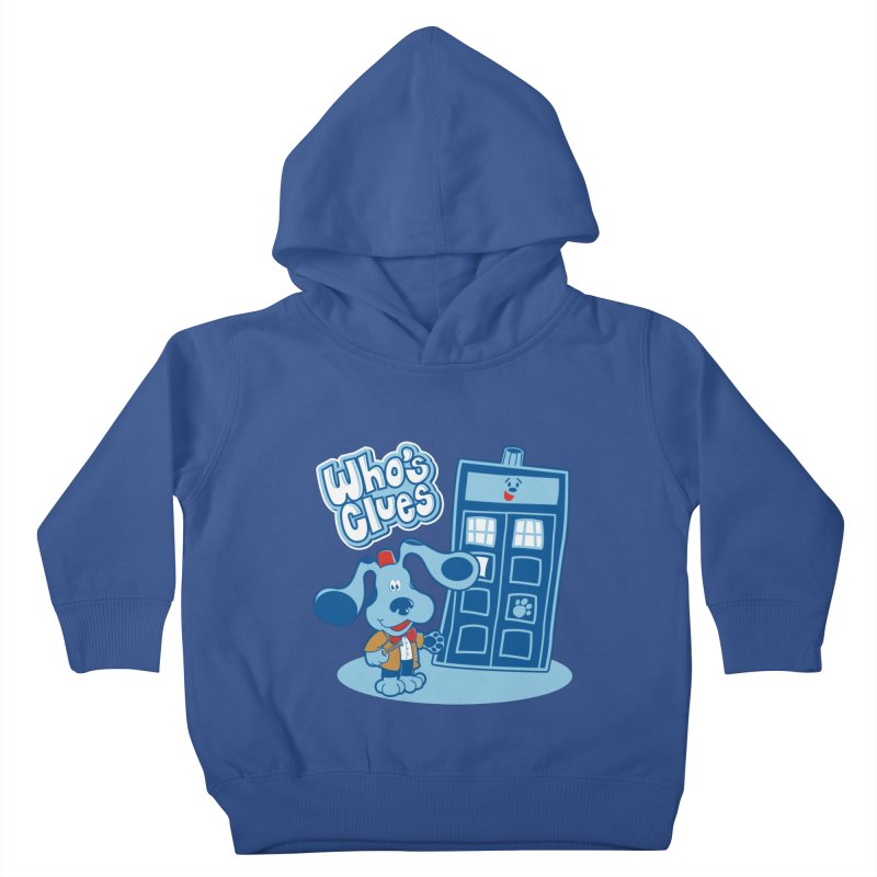 Who's Clues Kids Toddler Pullover Hoody by Moysche's Shop