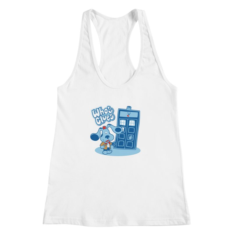 Who's Clues Women's Racerback Tank by moysche's Artist Shop