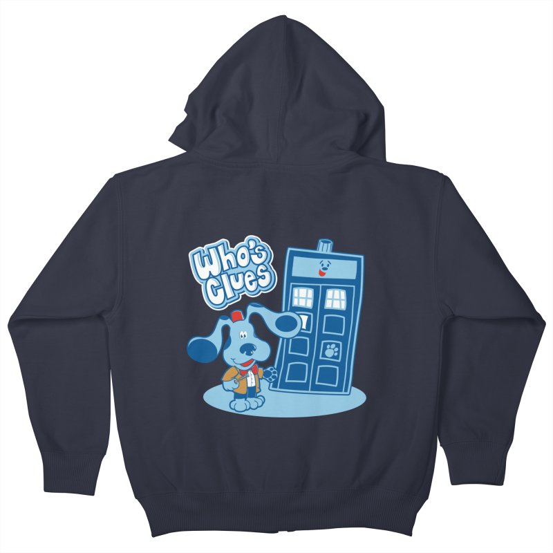 Who's Clues Kids Zip-Up Hoody by moysche's Artist Shop