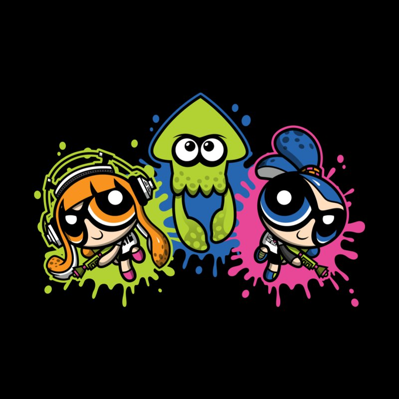 Splatoon Puff Kids Longsleeve T-Shirt by Moysche's Shop