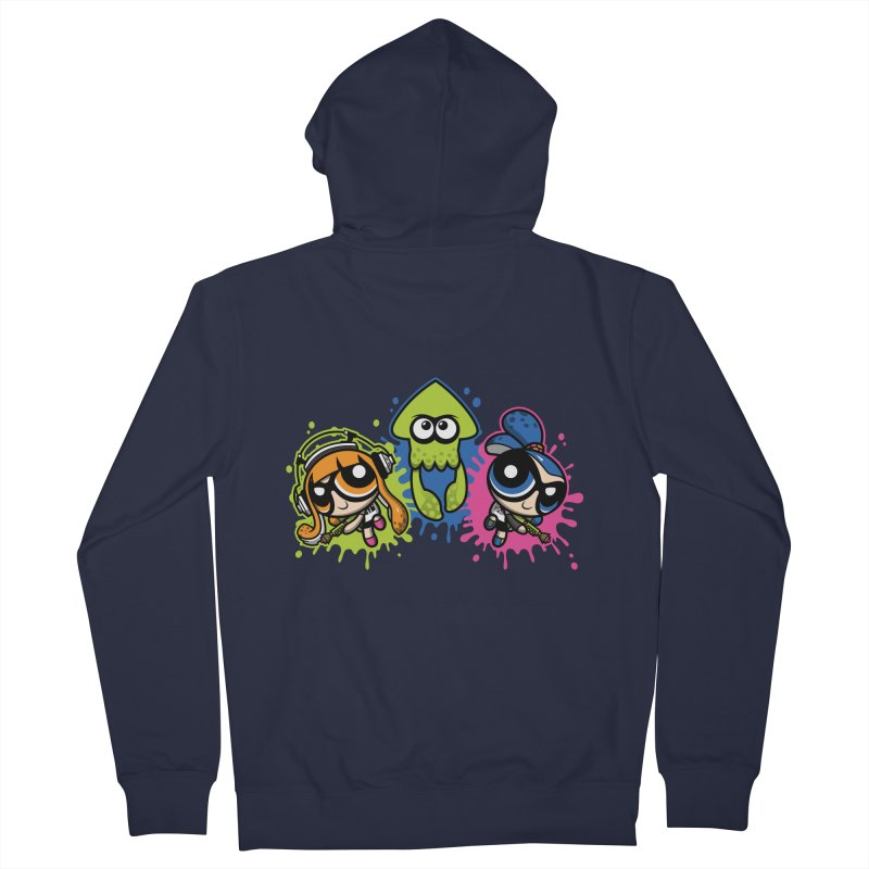 Splatoon Puff Women's Zip-Up Hoody by moysche's Artist Shop