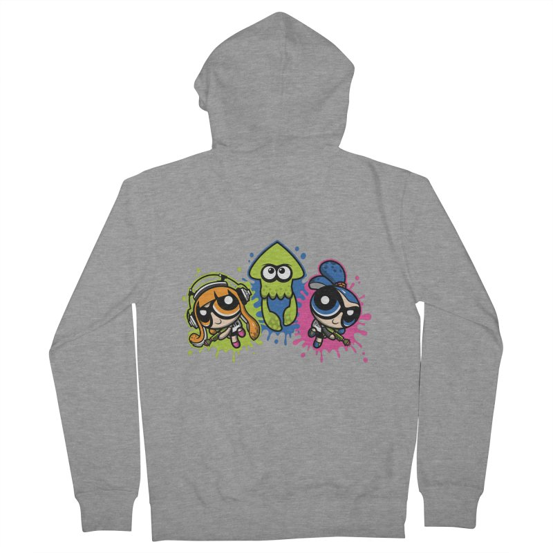 Splatoon Puff Men's Zip-Up Hoody by Moysche's Shop