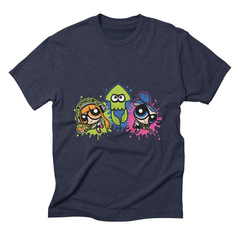 Splatoon Puff Men's Triblend T-shirt by moysche's Artist Shop