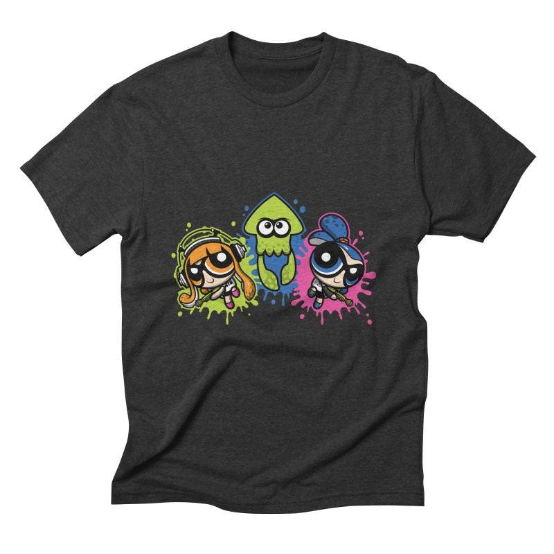 Splatoon Puff Men's Triblend T-Shirt by Moysche's Shop