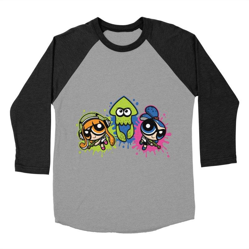 Splatoon Puff Women's Baseball Triblend T-Shirt by moysche's Artist Shop