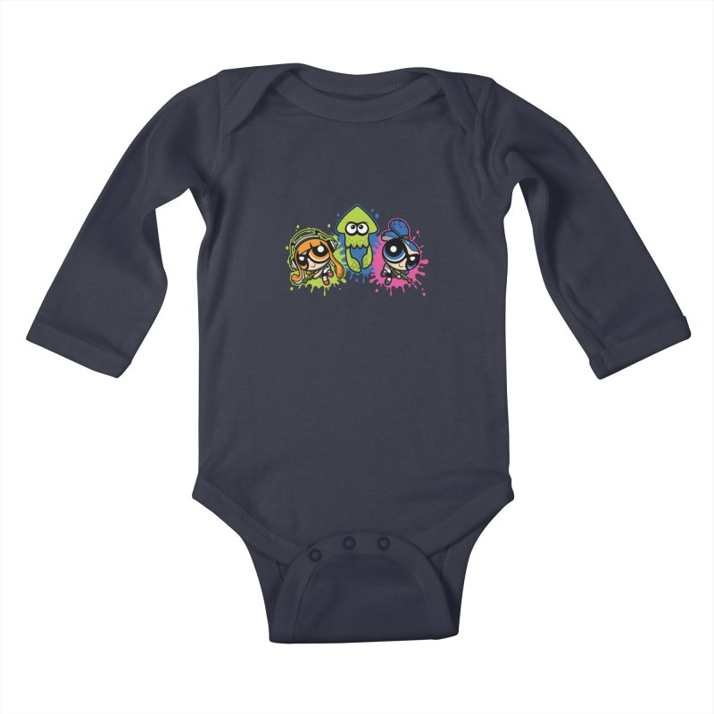 Splatoon Puff Kids Baby Longsleeve Bodysuit by Moysche's Shop