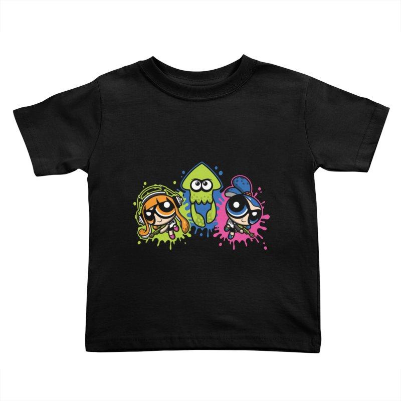 Splatoon Puff Kids Toddler T-Shirt by moysche's Artist Shop