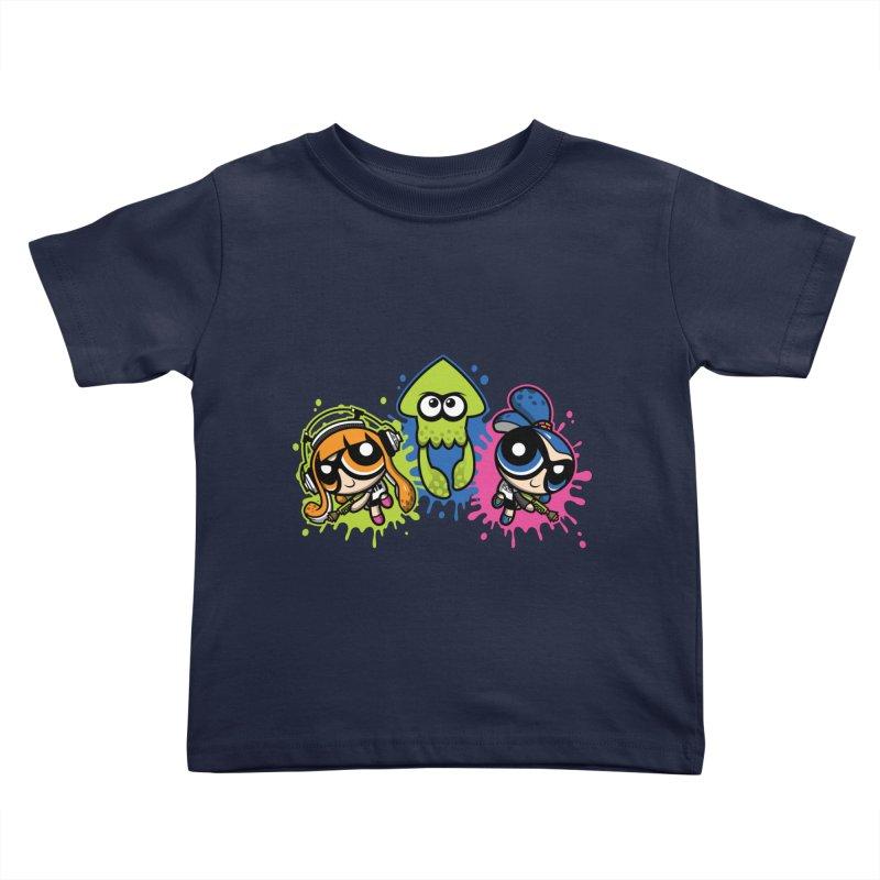 Splatoon Puff Kids Toddler T-Shirt by Moysche's Shop