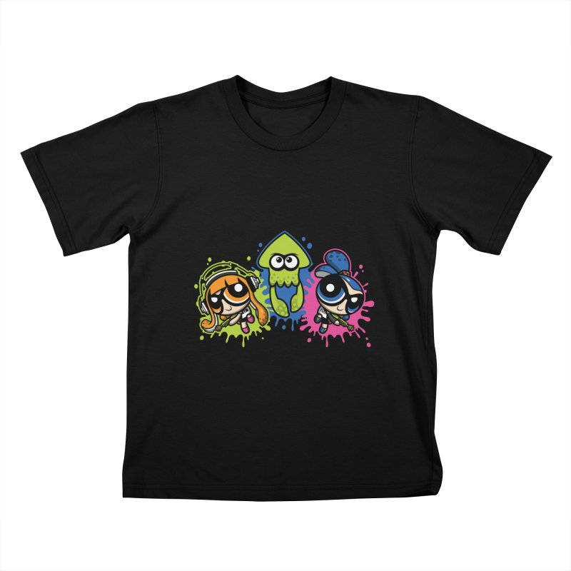 Splatoon Puff Kids T-Shirt by Moysche's Shop