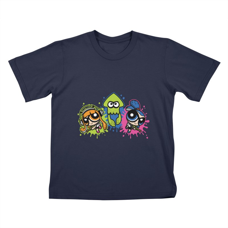 Splatoon Puff Kids T-shirt by moysche's Artist Shop