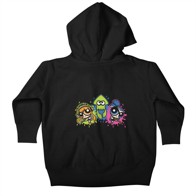 Splatoon Puff Kids Baby Zip-Up Hoody by moysche's Artist Shop