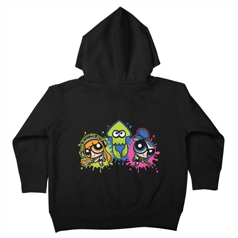 Splatoon Puff Kids Toddler Zip-Up Hoody by Moysche's Shop