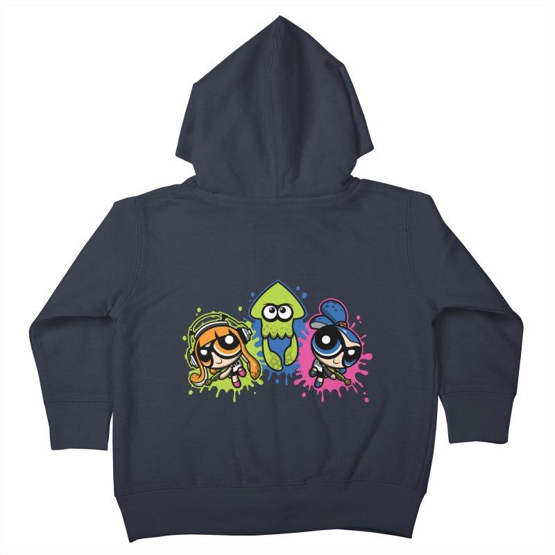 Splatoon Puff Kids Toddler Zip-Up Hoody by moysche's Artist Shop