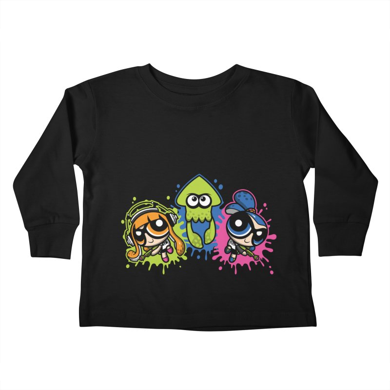 Splatoon Puff Kids Toddler Longsleeve T-Shirt by moysche's Artist Shop