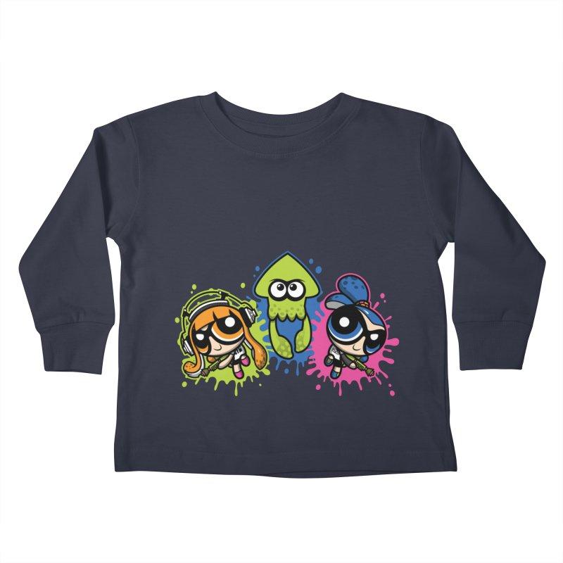 Splatoon Puff Kids Toddler Longsleeve T-Shirt by Moysche's Shop