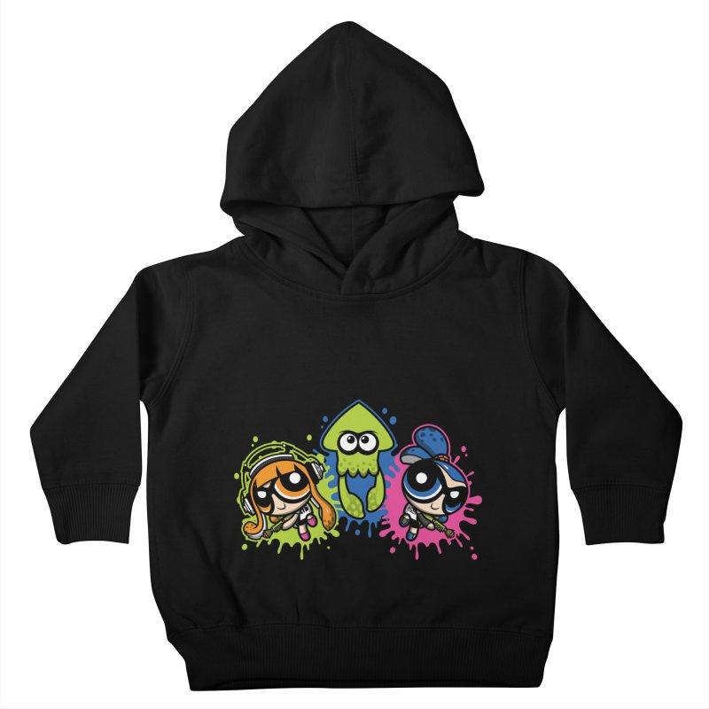 Splatoon Puff Kids Toddler Pullover Hoody by Moysche's Shop