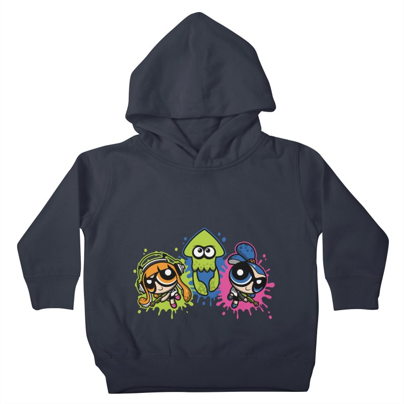 Splatoon Puff Kids Toddler Pullover Hoody by Moysche's Shop