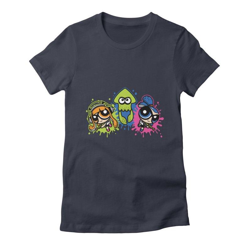 Splatoon Puff Women's Fitted T-Shirt by moysche's Artist Shop