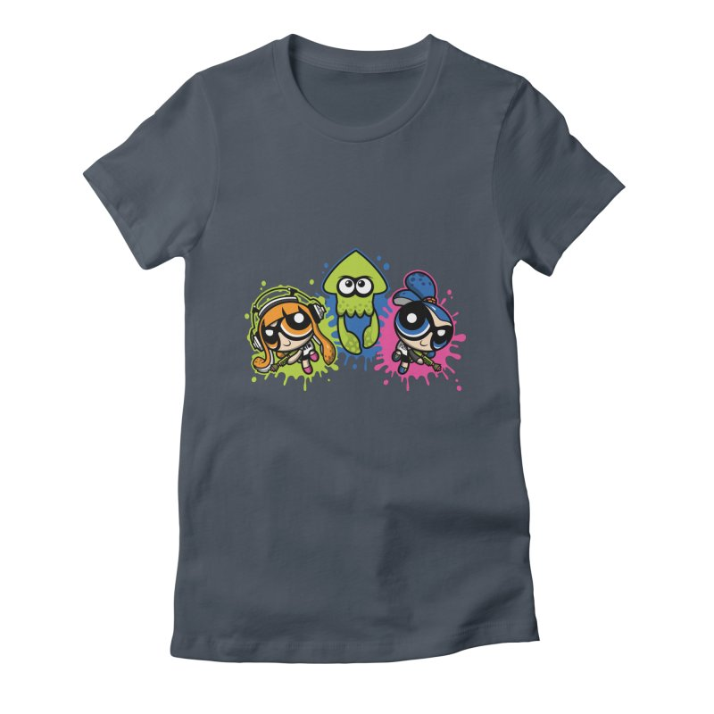 Splatoon Puff Women's Fitted T-Shirt by Moysche's Shop