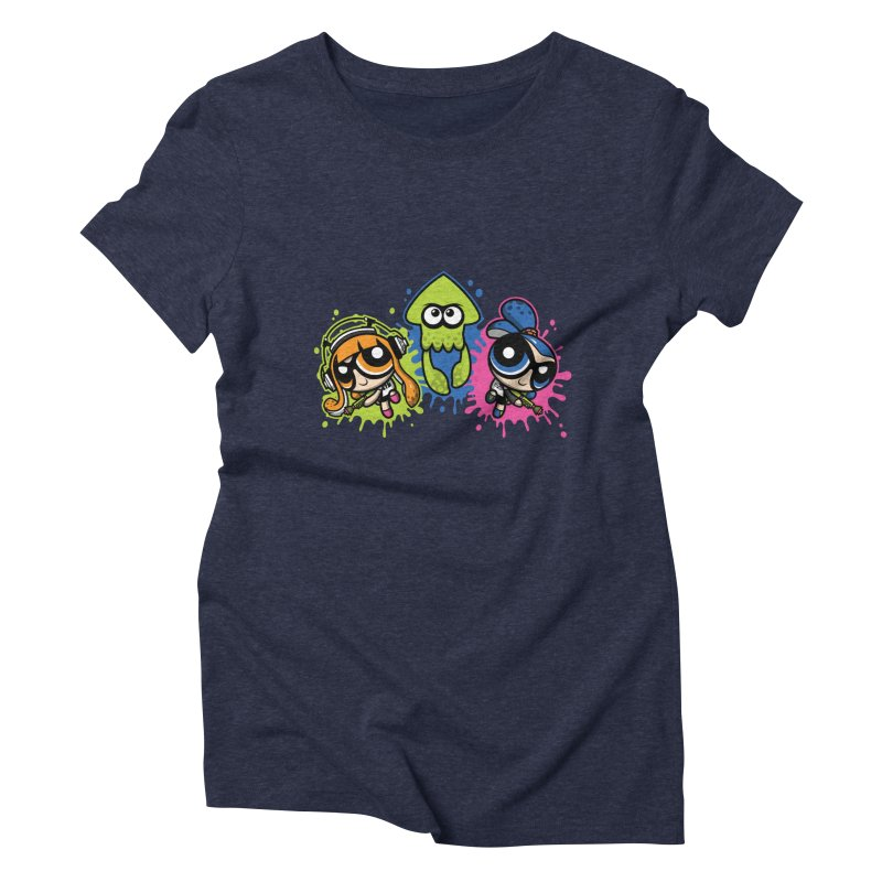 Splatoon Puff Women's Triblend T-Shirt by Moysche's Shop